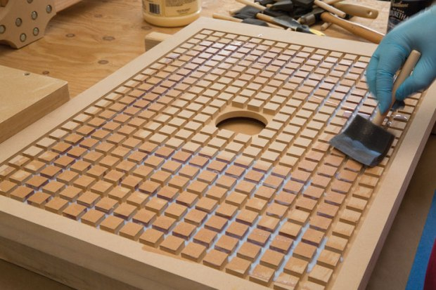 Sealing the MDF with wood sealer