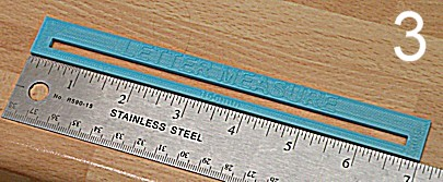 In Britain letters over 165 mm wide and 5mm thick have a surcharge. This gauge determines whether the surcharge applies.