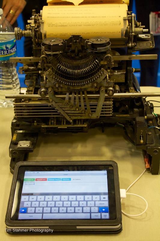 Sudo Bob's Teletype (image courtesy of Sudo Bob)