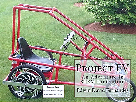 Fernandes has written a book about the project and the $1000 design of the EV.