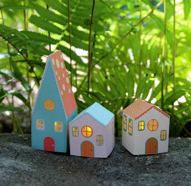 How-To: Paper House Luminaries