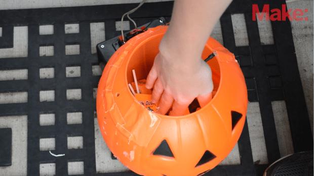 Pumpkin with IR Beam