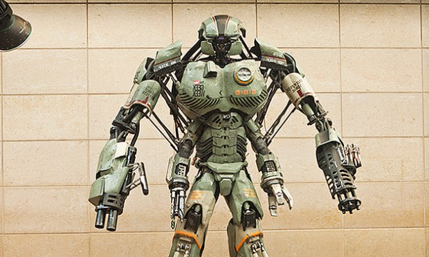 Stan Winston School of Character Art collaborated with Wired to create this Giant Robot Mech.