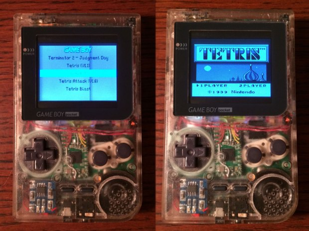 Don't be fooled, this isn't an actual Game Boy but a Raspberry Pi-based Pocket Pi.