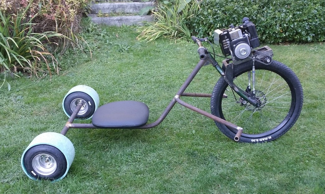 Homemade Tricycle Plans
