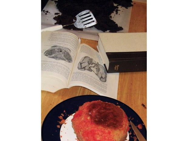 Sweet Bleeding Heart Cake