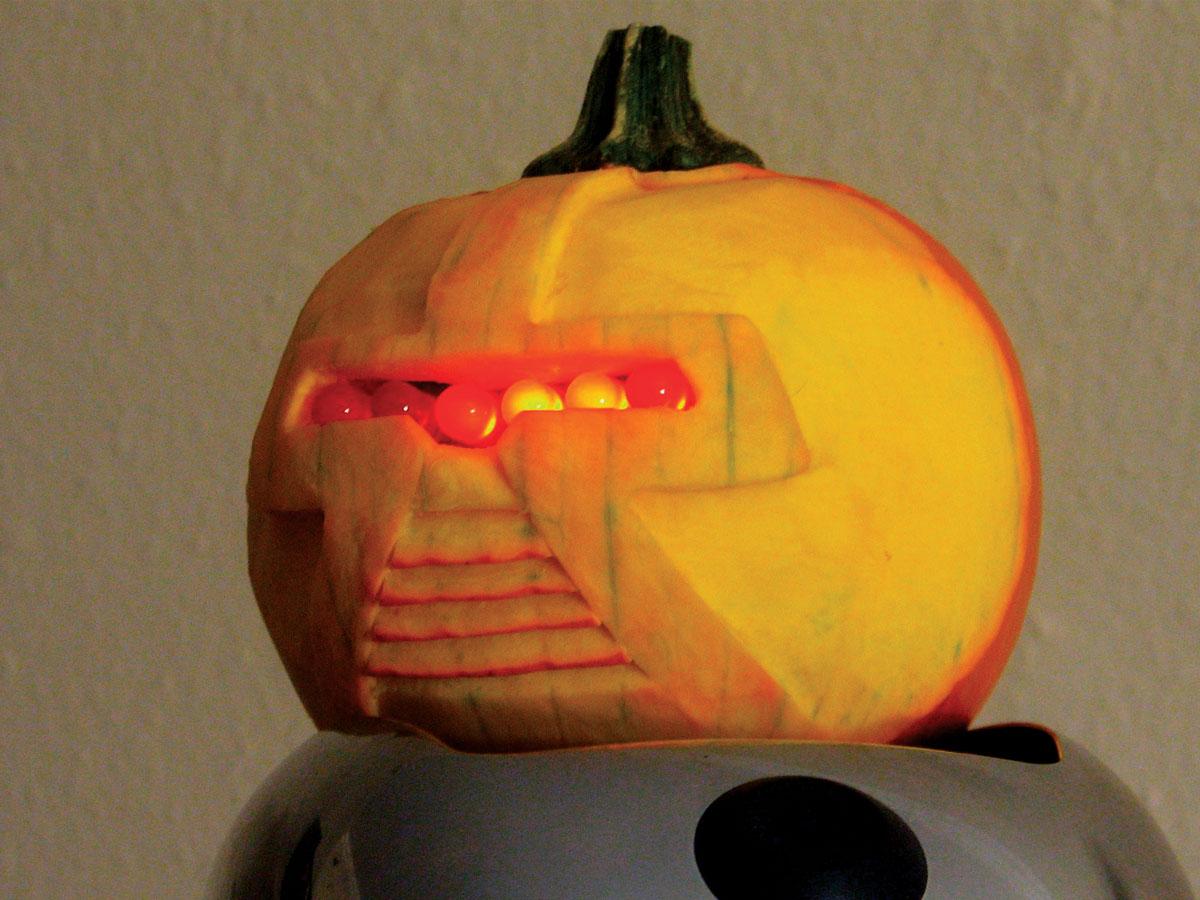 the cylon jack o u0027 lantern make