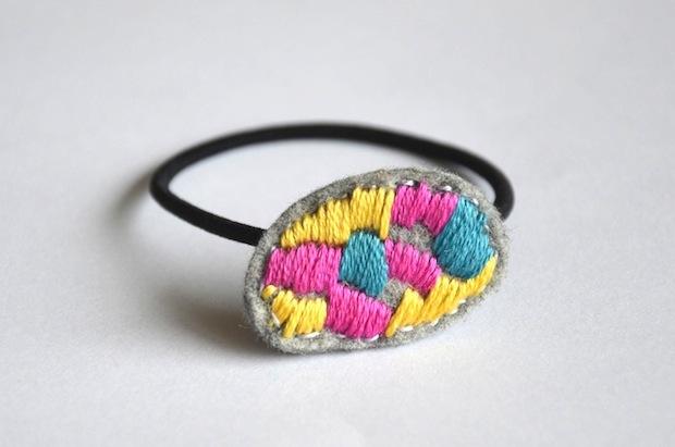 03_embroidered_ponytail_holder_flickr_roundup