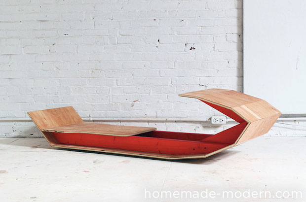 How To Build A Modern Wooden Toboggan Make