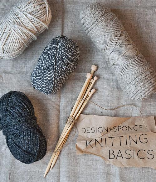 DIY in the New Year: Knitting Basics