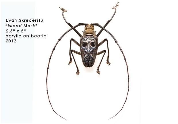 Painted Beetle (yes, actual Beetle) by Evan Skrederstu from UGLAR