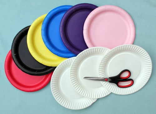 paperplatehats_1-e1327072751432 & Easy Paper Plate Party Hats | Make: