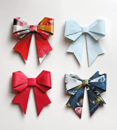 recycled-origami-bows-1