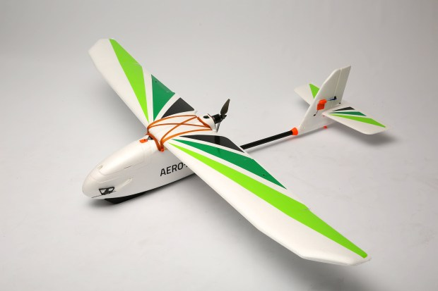 The 3D Robotics Aero-M has 40 minutes of flight time for mapping and surveillance. Photo: 3D Robotics.