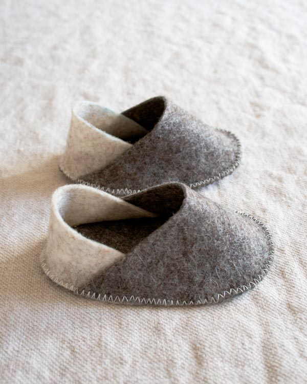 How-To: Felt Baby Slippers