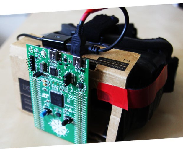 ST's STM32F3 motion controller provides tracking for the Samsung Galaxy Note 4 that drives the Gear VR.