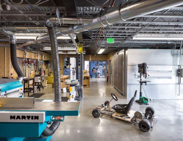 Autodesk's Pier 9 Lab (Credit: Autodesk)