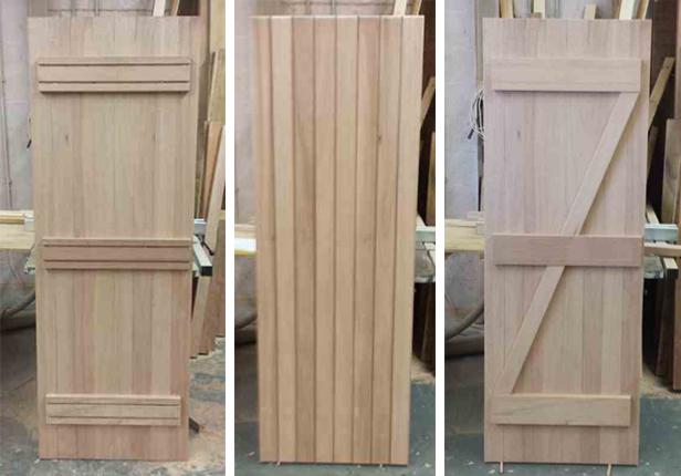 Make a ledged & braced door