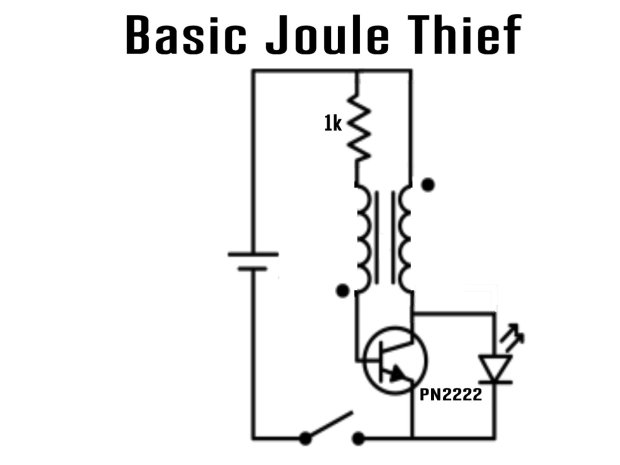 """Joule Thief Battery Charger: Bring Back the """"Dead"""""""