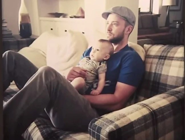 Justin Timberlake Has Shared Some Baby Photos. Cute