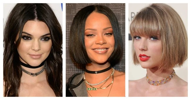 Image result for celebrities wearing chokers 2016