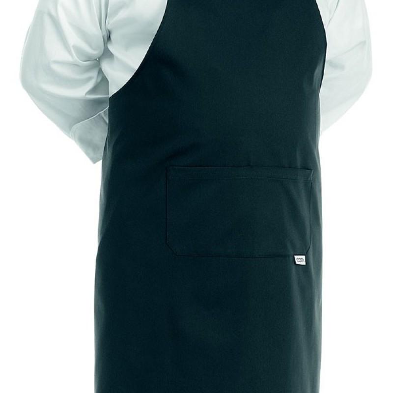 tablier de cuisine noir grande taille manelli