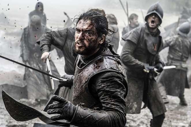 game of thrones season 6 jon snow battle