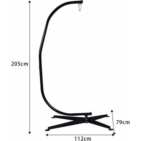 de hamac support pour fauteuil suspendu