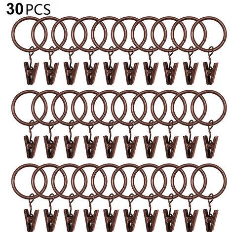 anneau pince rideau a prix mini