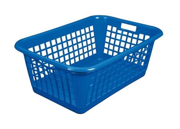 Aluminium Et Plastique Corbeille A Linge 60 L Bleu 3541216043032