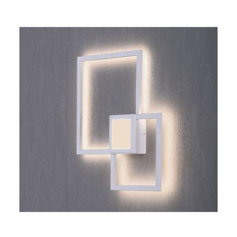 applique mural blanc led 1x24w 6231