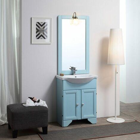 Meuble Salle De Bain Bleu A Prix Mini