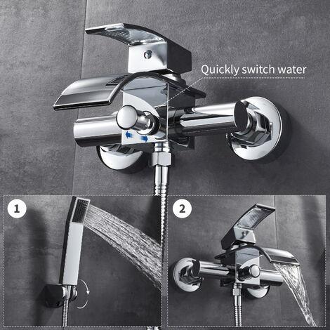 bonade robinet de baignoire mitigeur