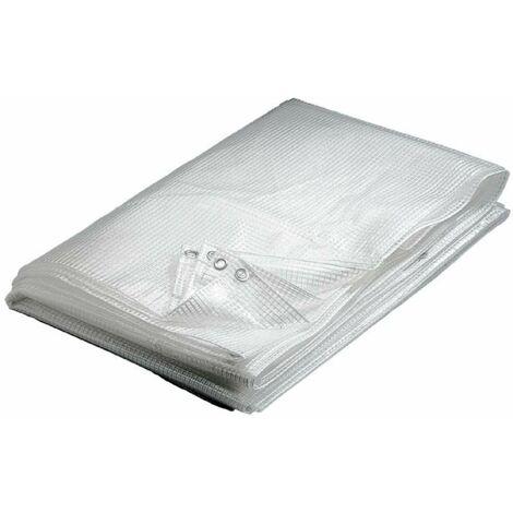 bache pvc premium blanche 300g m2 2 x 3