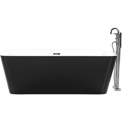 baignoire noire a prix mini
