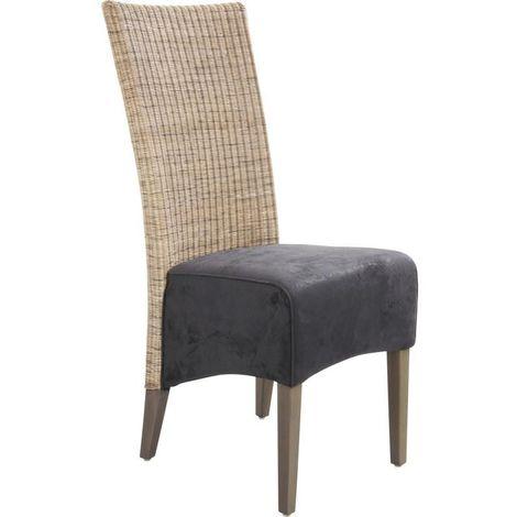 chaise rotin a prix mini