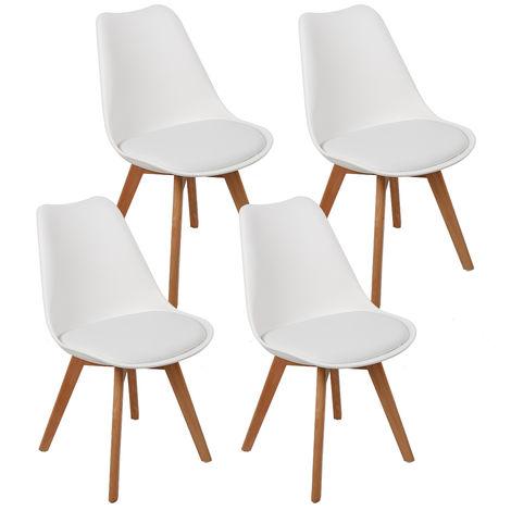 chaise scandinave blanche a prix mini