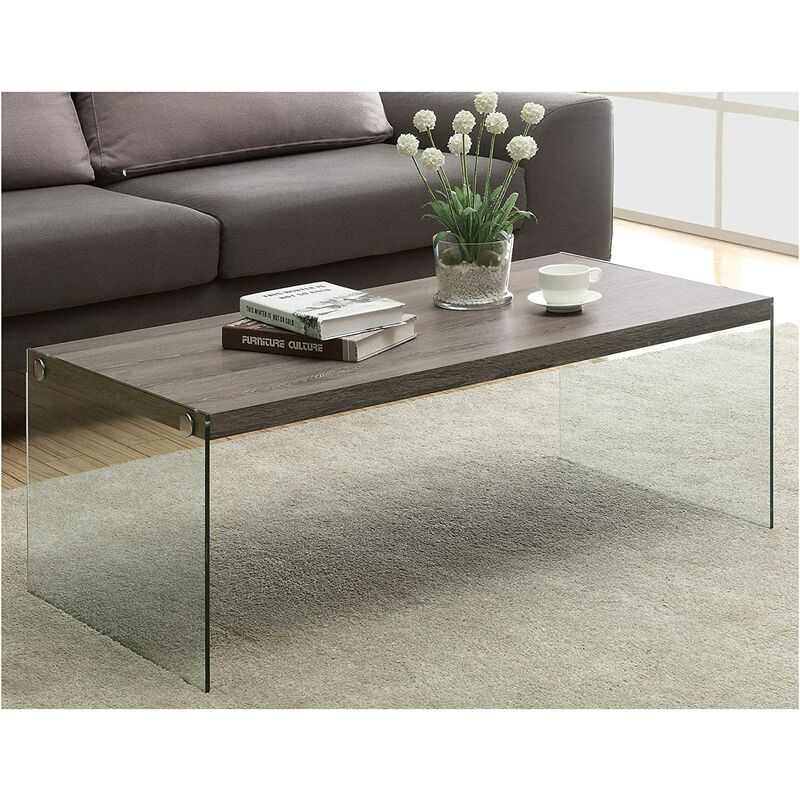 cherry tree furniture ctf otto modern design walnut colour wood and glass coffee table living room table