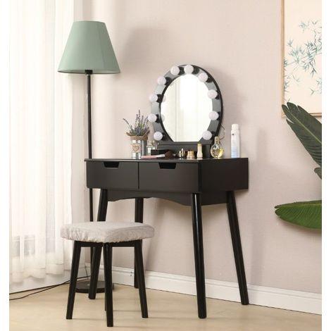 Coiffeuse Avec Lumiere Led Miroir Ovale Table De Maquillage Contemporain Avec Tabouret 131 80 40cm Noir Mo7j4n8lxcvj1ba2p168q1d0m52 K092fylsc2qt