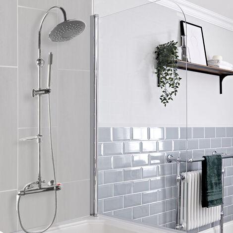 colonne de bain avec robinetterie a