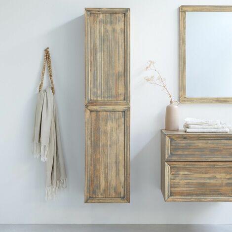 colonne salle de bain bois a prix mini