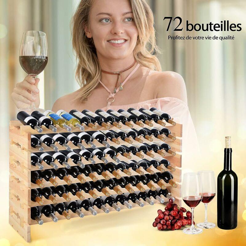 bouteille cave a vin porte bouteilles