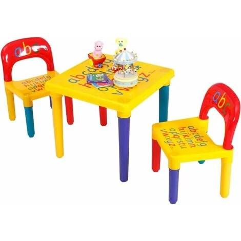 costway table et chaises pour enfant en