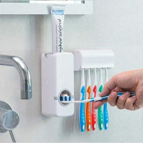 Distributeur De Dentifrice Avec Porte Brosse A Dents 134