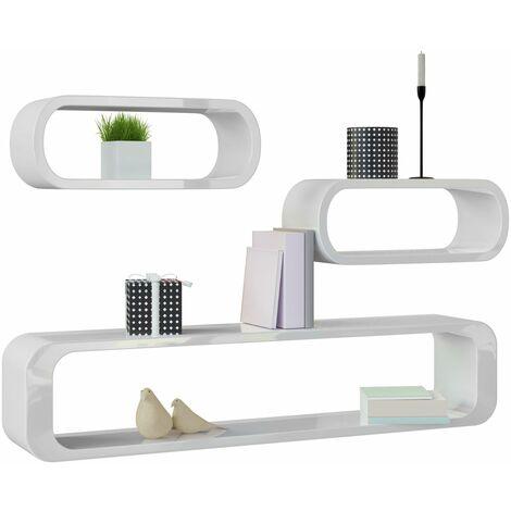 ensemble etagere murale en style retro motif livre cube etageres pour livres modele selection