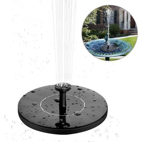 fontaine solaire a prix mini