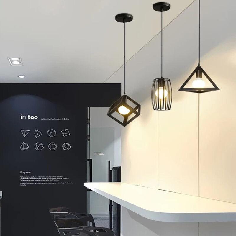 3 lampes suspensions luminaire design