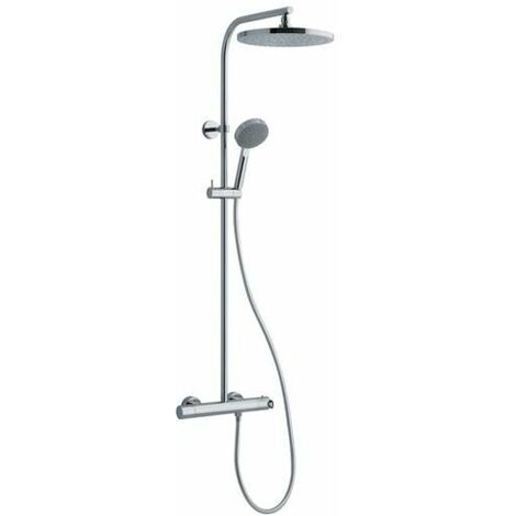 colonne de douche alterna plenitude avec mitigeur thermostatique chrome ref pe612151cr