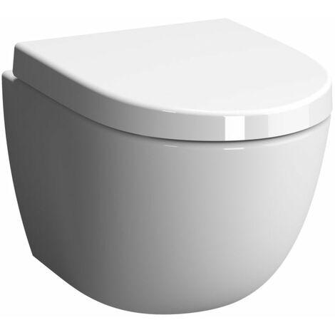 pack wc suspendu alterna o2 courte avec abattant frein de chute declipsable