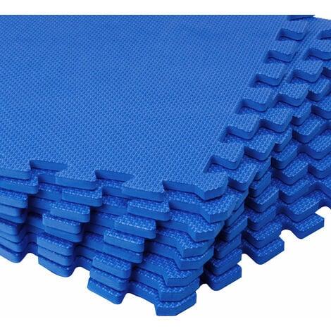 lot de 16 tapis de protection pour sol 180x180cm piscine tapis de sport fitness